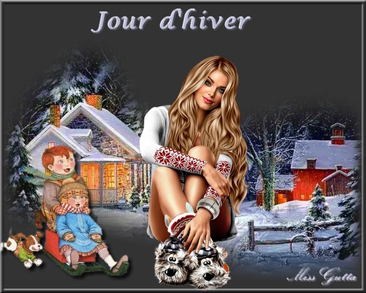 Jour d'hiver pour ami Thierry !