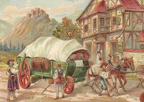 Une auberge au Moyen Age