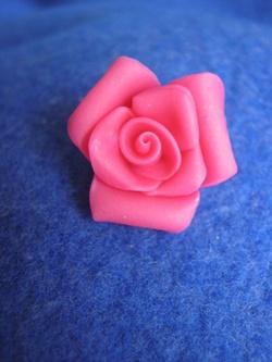 Roses en porcelaine froide.