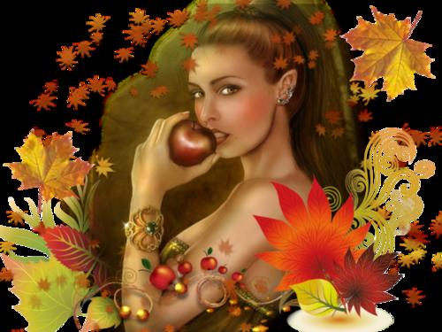 Femmes aux couleurs d'automne