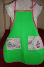 Tablier vert pistache