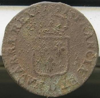 Monnaie Louis XVI revers