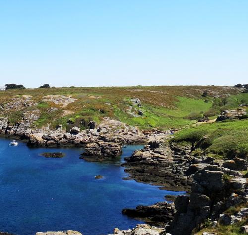 Escapade iodée à l'Île de Groix (Morbihan) - Le trou de l'Enfer à Port Nicolas