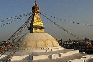 Nepal Katmandou bodnath