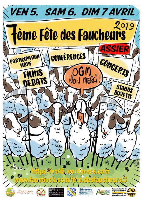 06 07 Avril 2019 Fête des FAUCHEURS ASSIER (46)