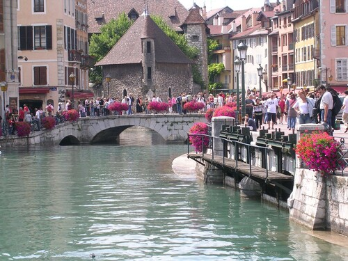 Aix les Bains et Annecy