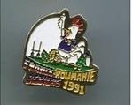 Pin's France-Roumanie CPM 1991 (19)