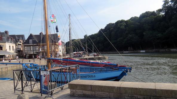 Quand Lyon vient en Bretagne : Des crêpes à Locmariaquer puis la Trinité