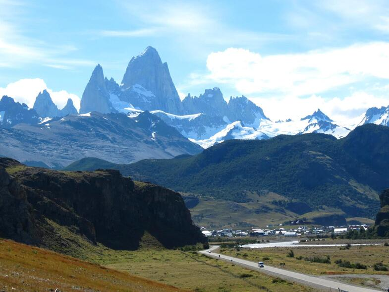 Glacier Perrito Moreno et Mont fitz roy