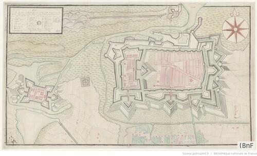 Plan de Calais 16e ou 17e
