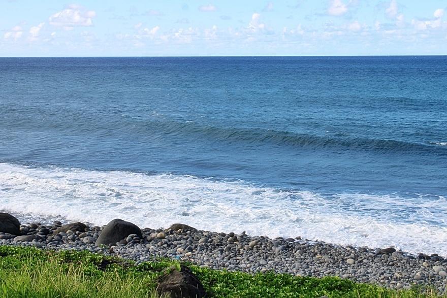 22/3/21 : Après la cascade voici le bord de mer à Ste-Suzanne