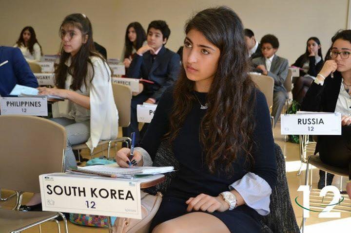 Conférence finale pour les participants au M.U.N.