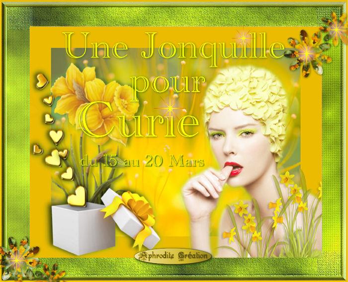Création Occasion spéciale : Une Jonquille pour Curie