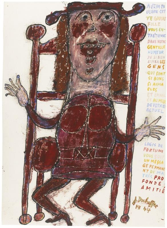 Cecil Skotnes   vs   Jean Dubuffet