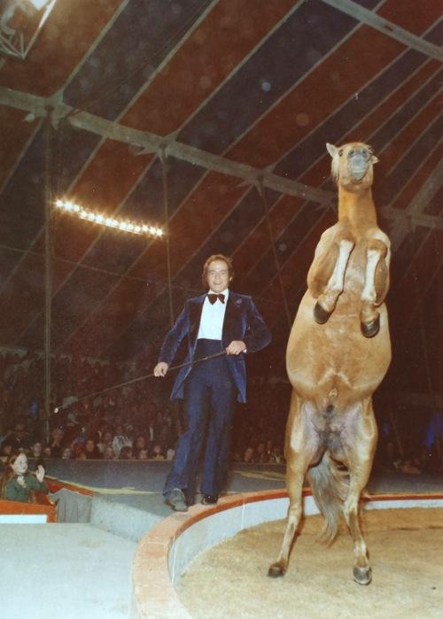 Lucien Gruss au cirque Jean RIchard