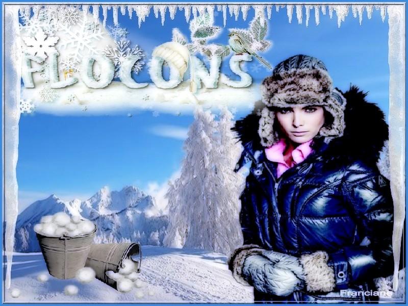 quelques créations sur le thème de l'hiver ! bon week-end