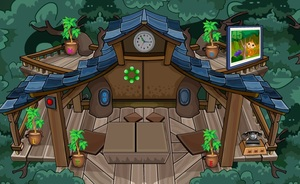 Jouer à G4K Tree abode escape