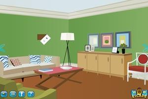Jouer à Wow greeny house escape