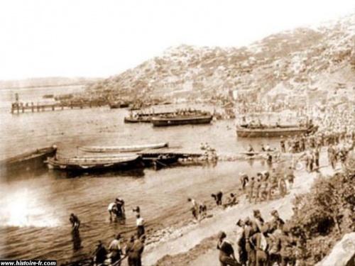 Le régiment perdu des Dardanelles
