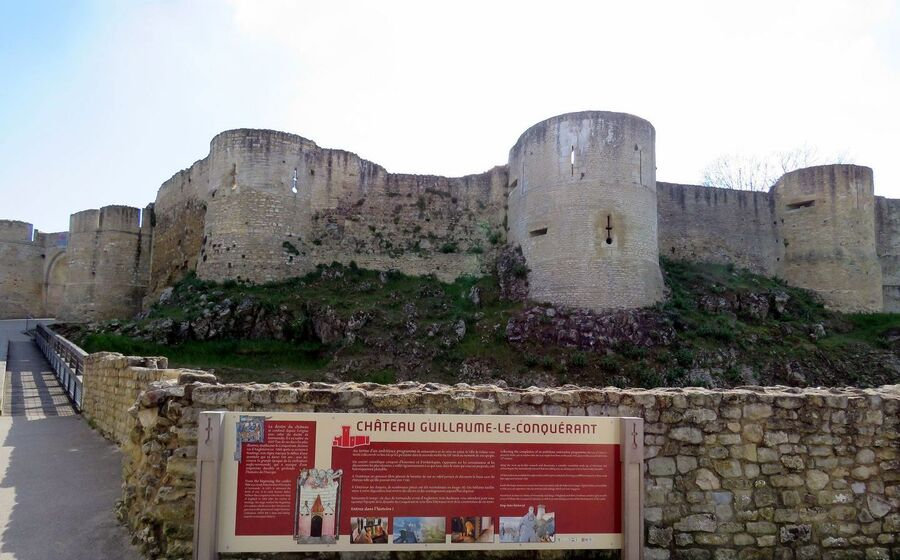 Falaise dans le Calvados