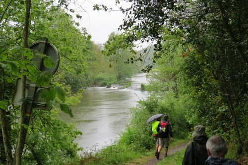 Jeudi - La Bruffière sous la pluie