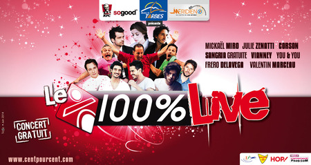 100% Radio - 100% Live Tarbes