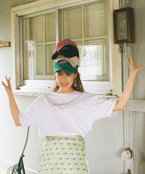 [PIMMY]  - Tshirt avec logo imprimé - 4 212 ¥