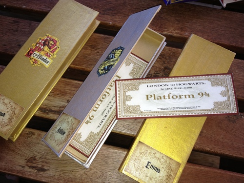 "Cadeau de bienvenue Harry Potter- ""Back to school gift"""
