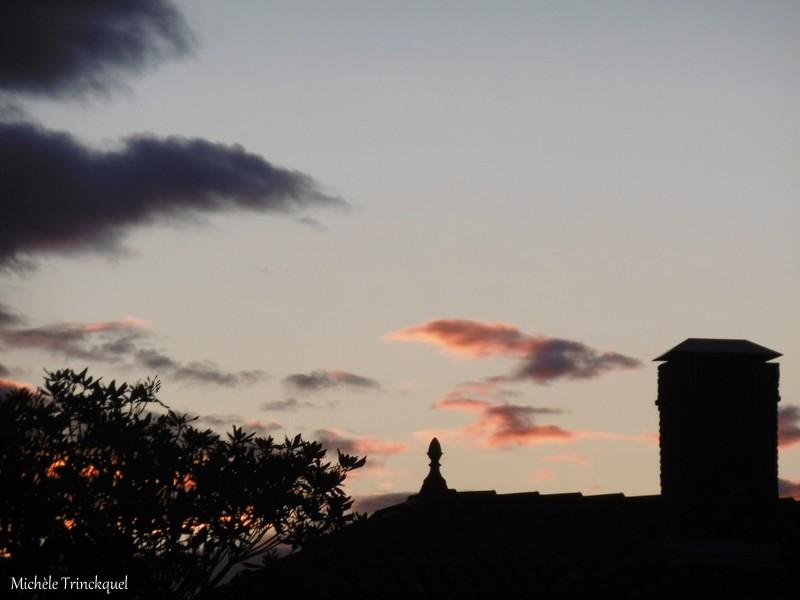 Le ciel au matin du 21 novembre....
