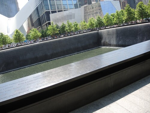 NEW YORK 2016- Jour 6- Ground Zero