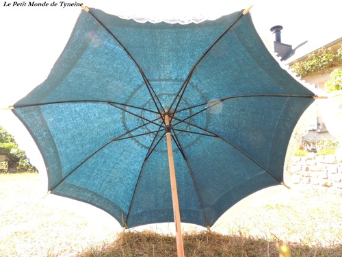 Customisation d'une ombrelle - How to wear an umbrella ?