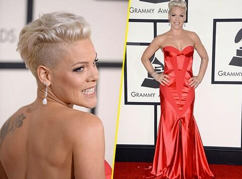 Grammy Awards : Tous les Looks ne riment pas forcément avec bon goût... pink, johanna johnson