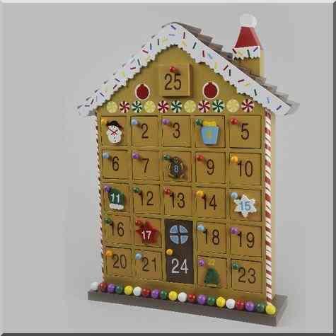 Noël le calendrier de l'Avent