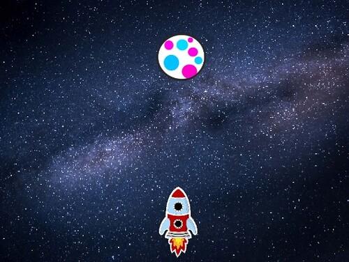Programmation Scratch 4 (Jeu de la fusée)