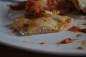 Raviolis à la crevette et sa sauce tomate-crevette