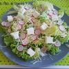Salade fraîcheur aux radis