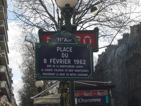 Ne pas oublier le massacre de Charonne