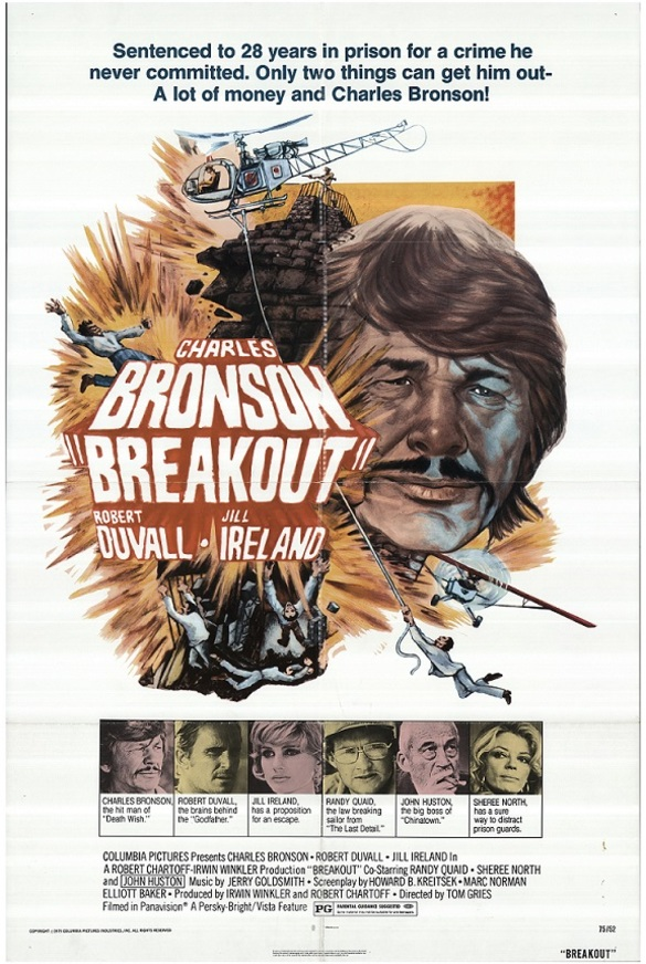 BREAKOUT (L'EVADE) box office usa 1975