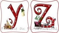Abécédaire Noël ! cartonnettes