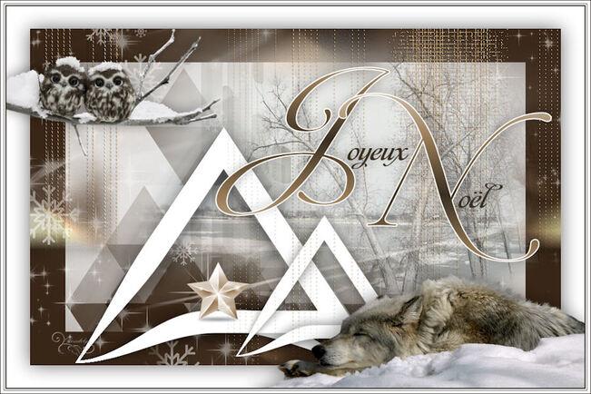 Tuto Joyeux Noël de Noisette