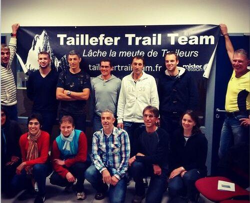 Sortie off Taillefer Trail Team St Martin d'Uriage