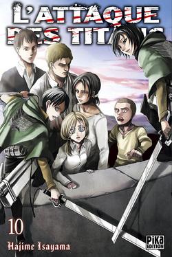 L'Attaque des Titans - tome 10