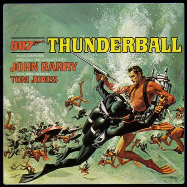 OPERATION TONNERRE - THUNDERBALL - JAMES BOND BOX OFFICE 1965
