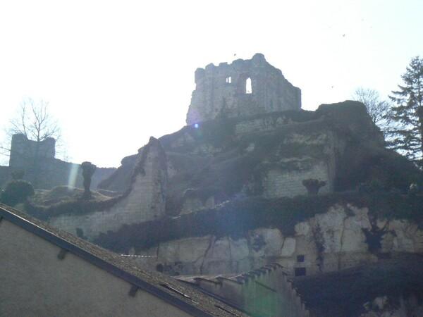 Montoire - ruines du château 11ème siècle
