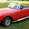 Sunbeam Alpine Tiger with Side Exhaust.