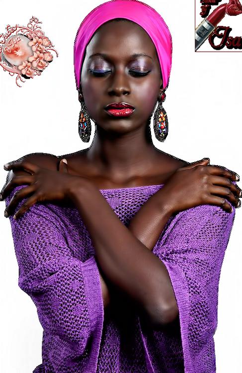 Tubes Femmes peau noir
