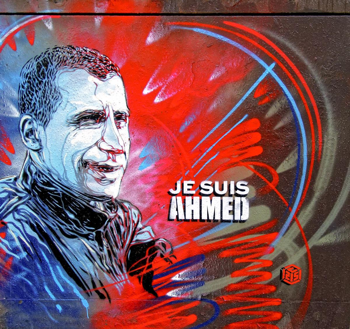 Art de rue Hommage