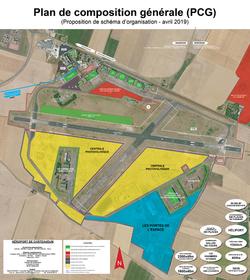 PCG = Plan de composition générale - EAR279 de Châteaudun