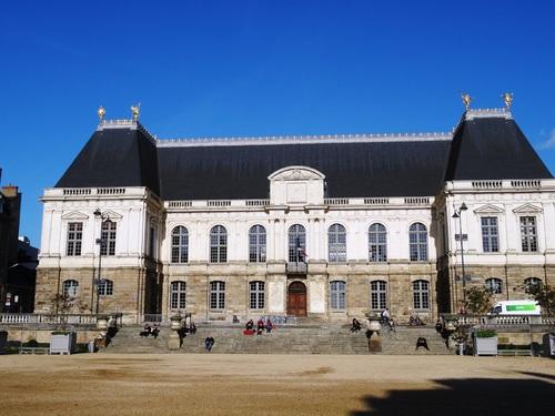 Rennes: autour du Parlement de bretagne (photos)