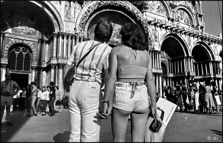 Les amoureux de la Piazza San Marco